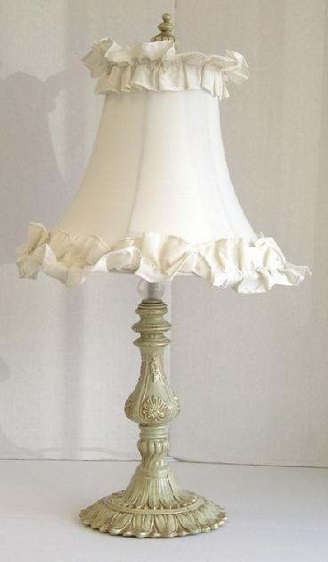 Shabby Chic style lamps shabby chic table lamps: french country shabby chic RIKKKIZ
