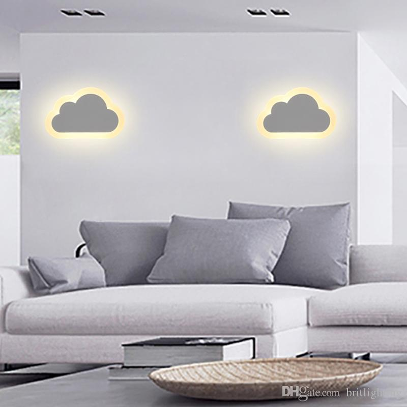 wall lamp for kids room ... children room cloud novelty lighting wall light for kids room modern GFJDLYT