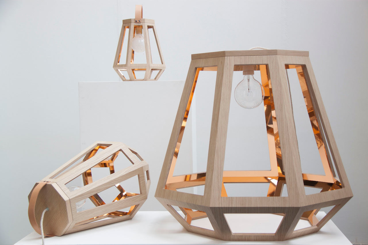 wood lamps designs lights inspired by wood houses and mining lamps ... WTDVWGK