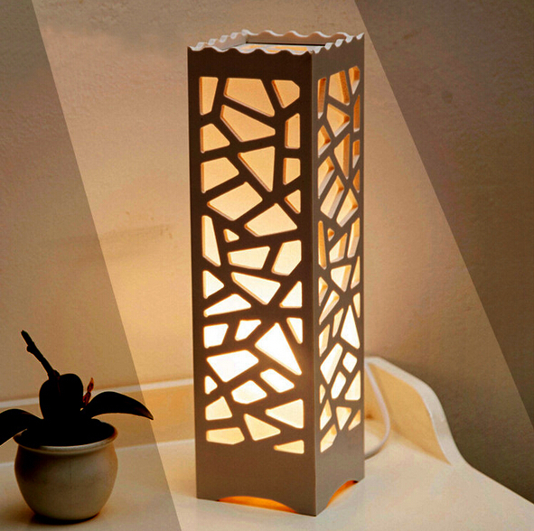 wood lamps designs modern design table lamps vintage lampshade wood plastic luminarias de mesa  lampshade BMPFWYW