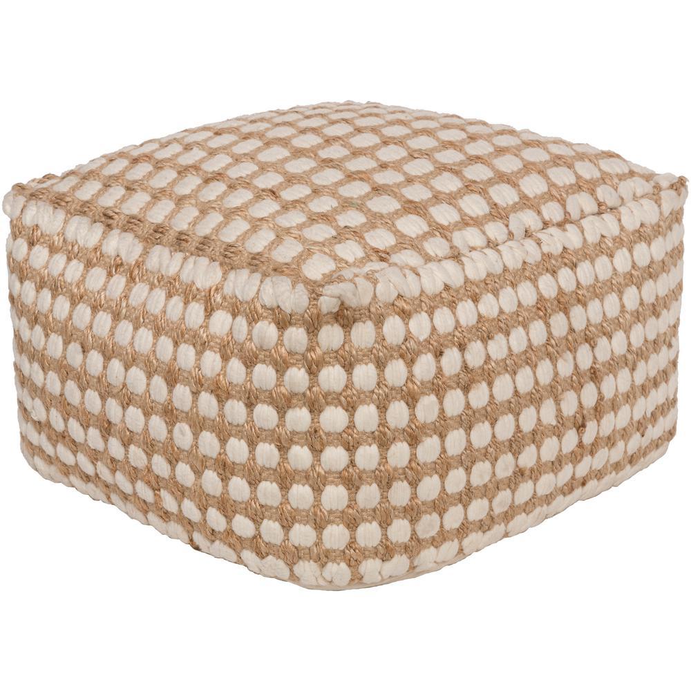 artistic weavers yiso white accent pouf ottoman IHOEEBM