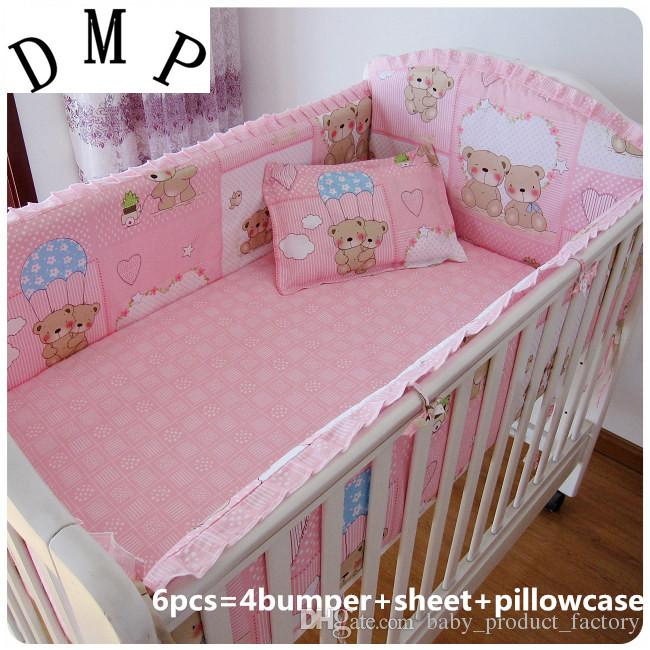 baby crib bedding sets cot crib bedding set baby bed  linen,include4bumpers+sheet+pillowcase boy comforter YGHGNWE