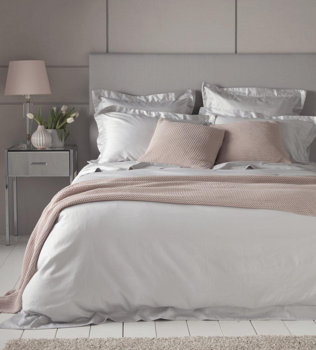 Bed linen luxury light grey 600 thread count bed linen   secret linen store XFFPZKB