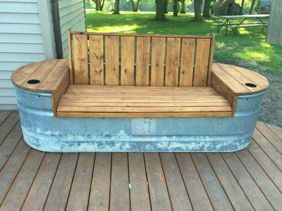 Bench ideas garden bench ideas that are out of the ordinary GIQCGDE