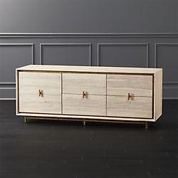 Chests of drawers lara acacia low dresser QQVAKIL