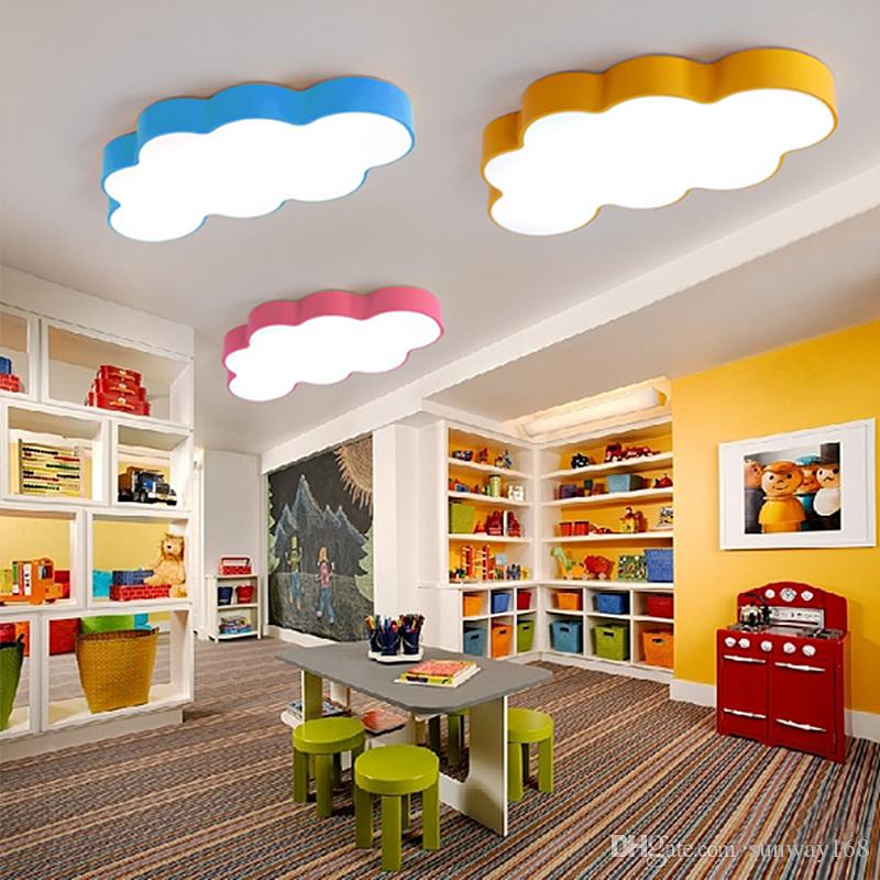 childrens room lighting discount led cloud kids room lighting children ceiling lamp baby ceiling  light with GVBIDSF
