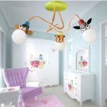 Lighting comfort in the childrens room
