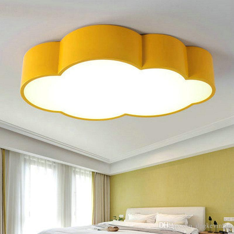 childrens room lighting led cloud kids room lighting children ceiling lamp baby ceiling light with  yellow NGSYCIK