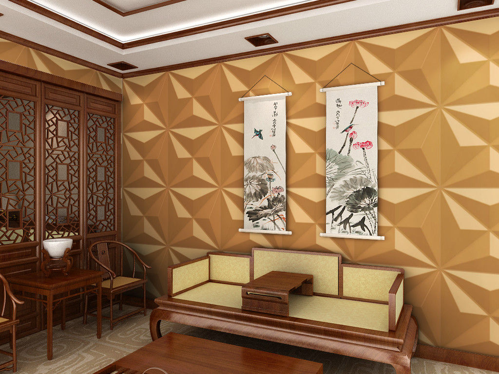 Custom wall cladding high end external wall cladding custom 3d wall panels / 3d wall covering FGELGGK