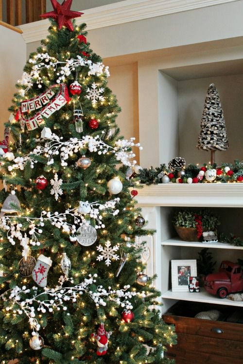 Decorate Christmas tree 50 christmas tree decoration ideas - pictures of beautiful christmas trees NECVPBZ