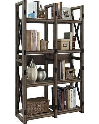Decorative Bookshelf altra furniture wildwood decorative bookshelf LXQGCIZ