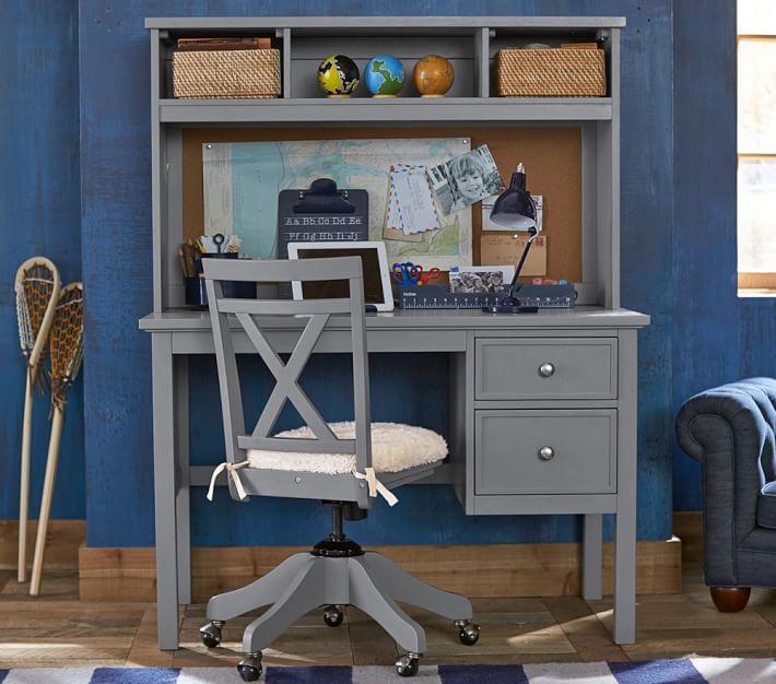 desk for childrens room elliott desk u0026 hutch | pottery barn kids TYMNUJI