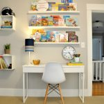 Optimal desk for the children's room
