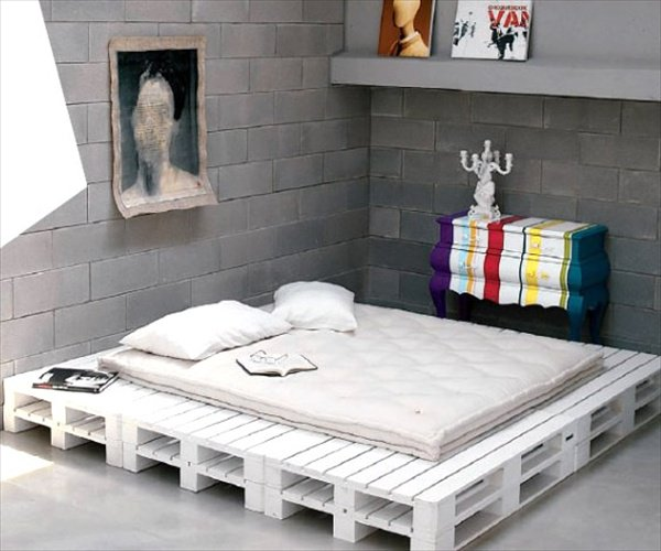 Pallet Bed – Pictures & Ideas