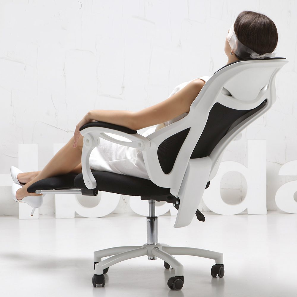 ergonomic furniture for home mesh lift home computer gaming chair ergonomic chair with footrest  reclining swivel boss JHBOUWD