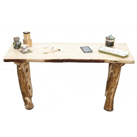 Furniture made of olive wood hand-made desk from olive wood DKPHJNS