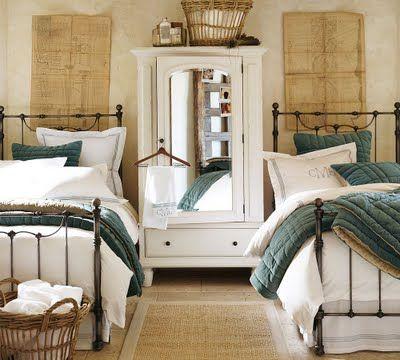 Guest Bed Inspiration tidbitsu0026twine guest bedroom inspiration 18 APMONEA