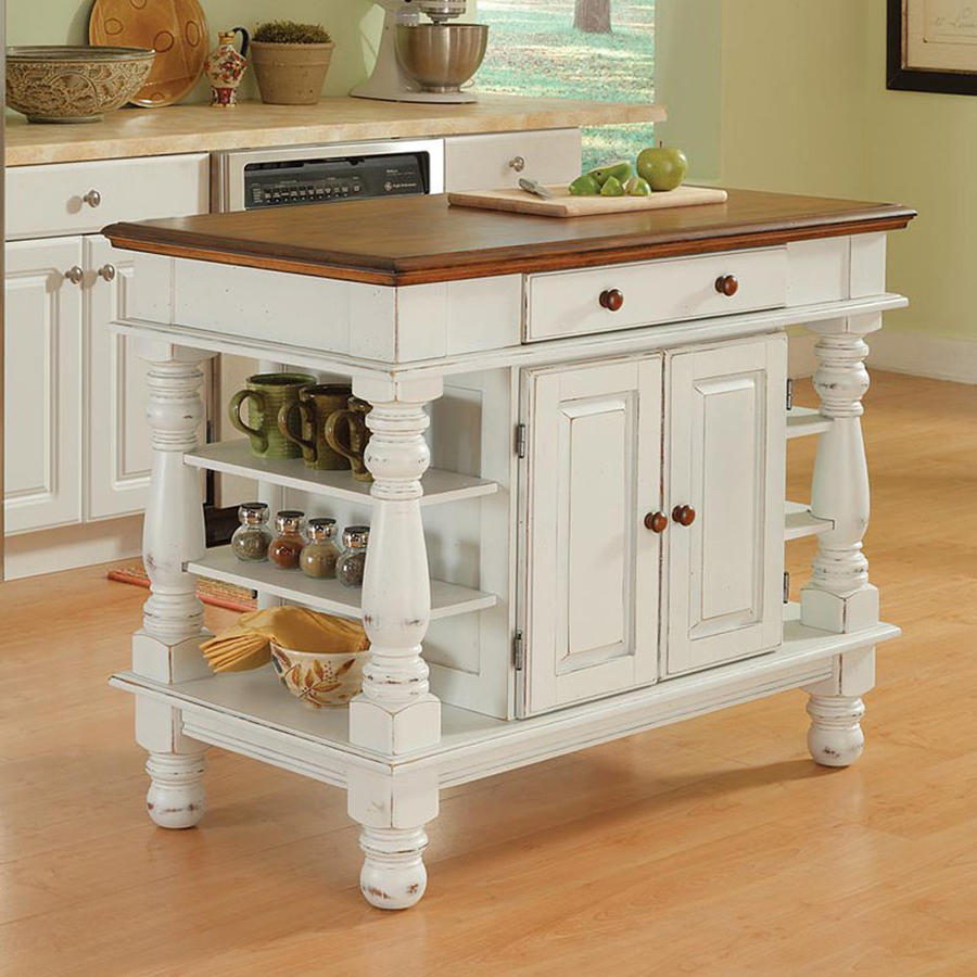 Kitchen Islands home styles white farmhouse kitchen islands OLDCKNT