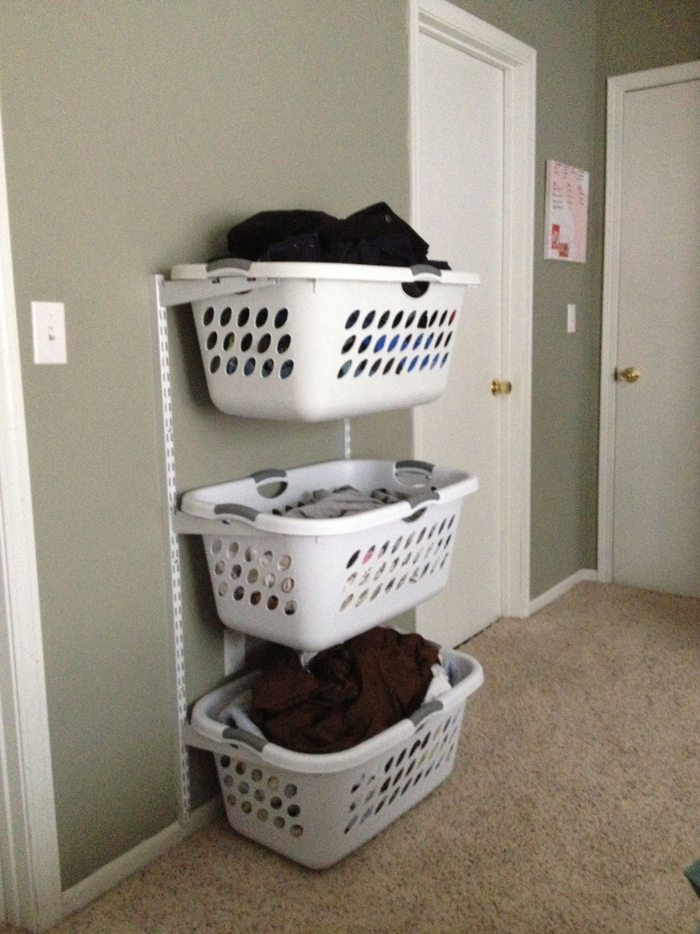 Laundry Basket Ideas i was totally thinking about doing something like this, but wasnu0027t sure  how... VRGQFRZ