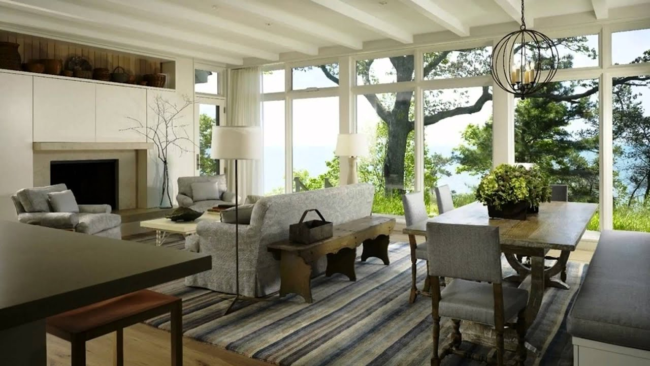 living room dining room combination living and dining room combinations | fabulous designer ideas - youtube JFWFVUE