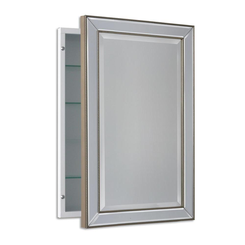 Mirror cabinet deco mirror 16 in. w x 26 in. h x 5 in. d FBMAFCD
