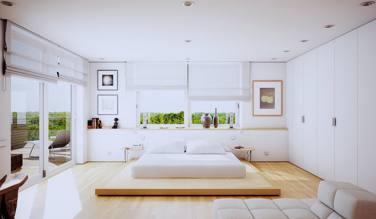 Modern bedrooms 20 modern bedroom designs DUMZLEN