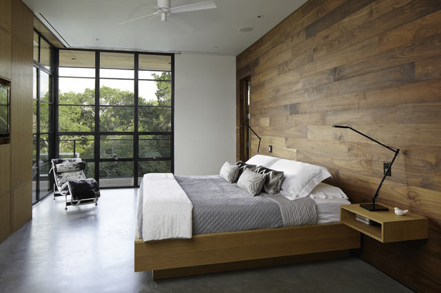 Modern bedrooms hill country residence modern-bedroom HQGCNGI
