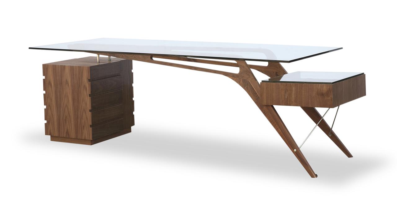 Modern Desk mollino desk TOFWGPX