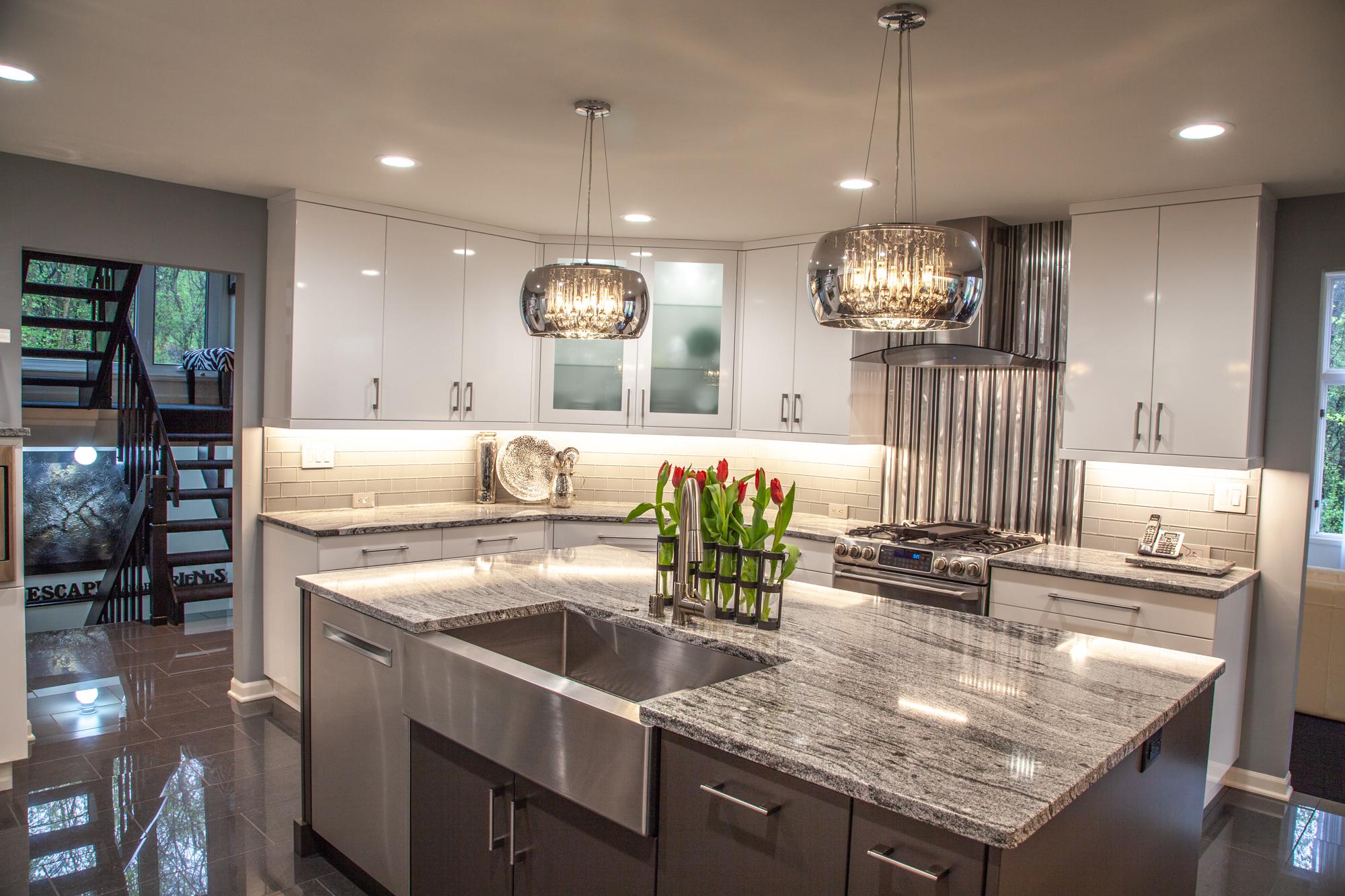 modern home dream kitchen EXLMFCT