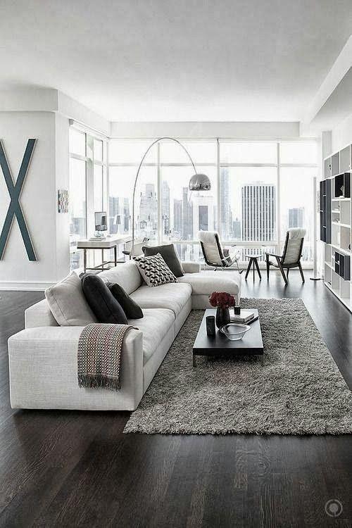Modern living room ideas 50 shades of grey u2026 rooms! modern living room decor, modern apartment decor, AQGBIWH