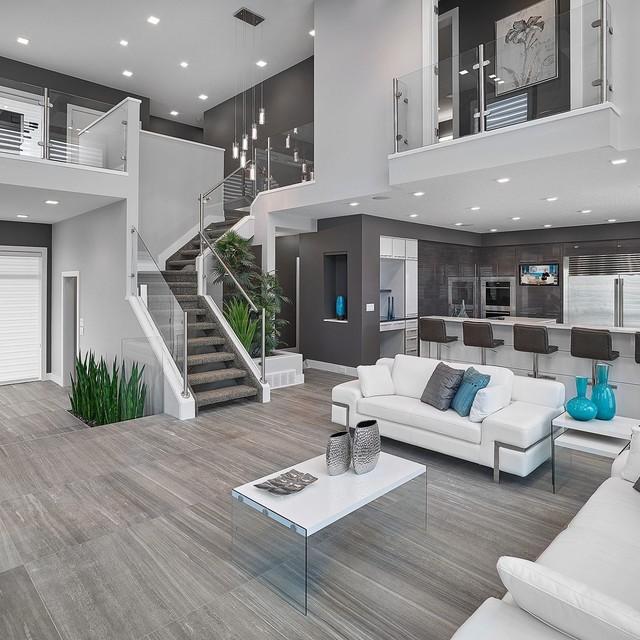 Modern living room ideas vickyu0027s homes - vittorio contemporary-living-room ACLQDCB
