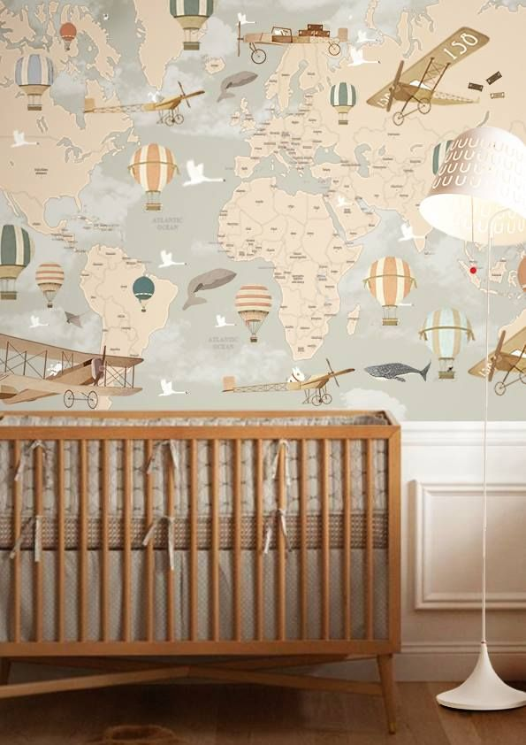 nursery wallpaper ideas girl themes ideas decals boy neutral organization colors layout design diy  decor rustic YTDEUNF