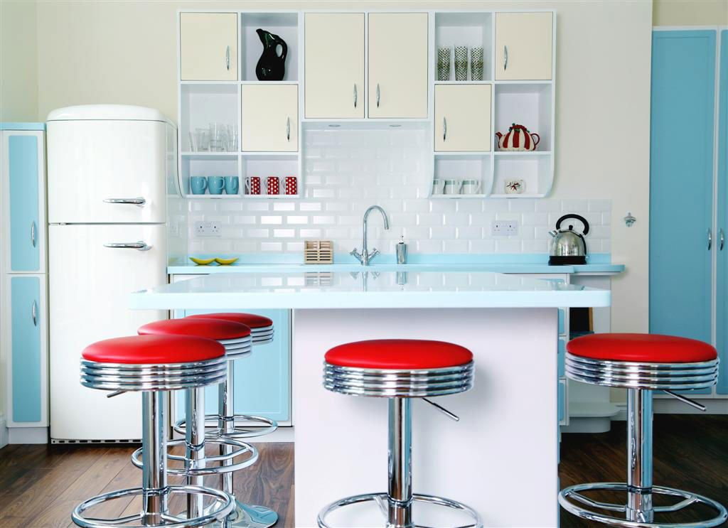 Retro kitchens with charm: how it works!