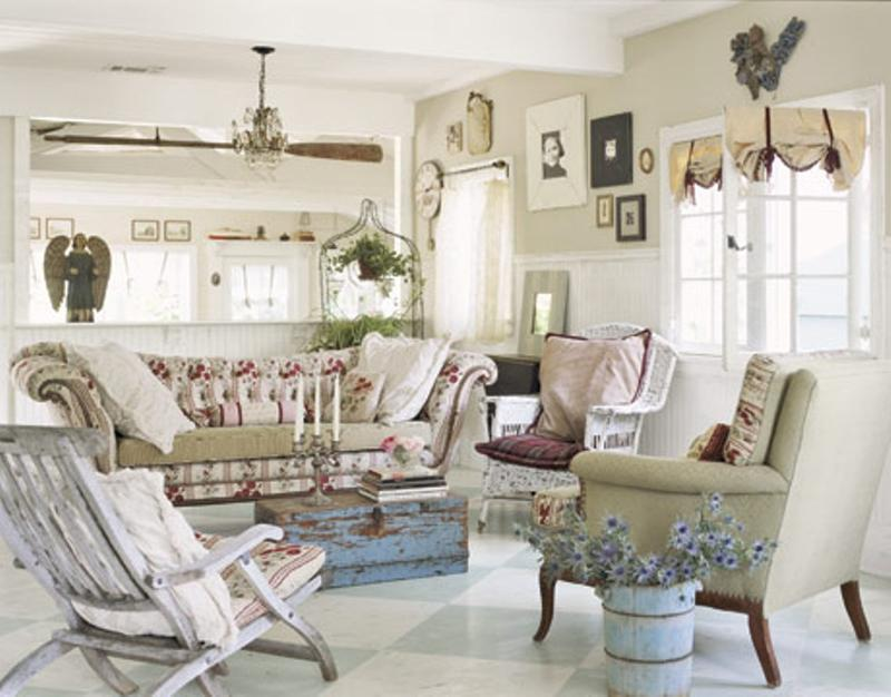 Discover Shabby Chic: ideas for interior design style!