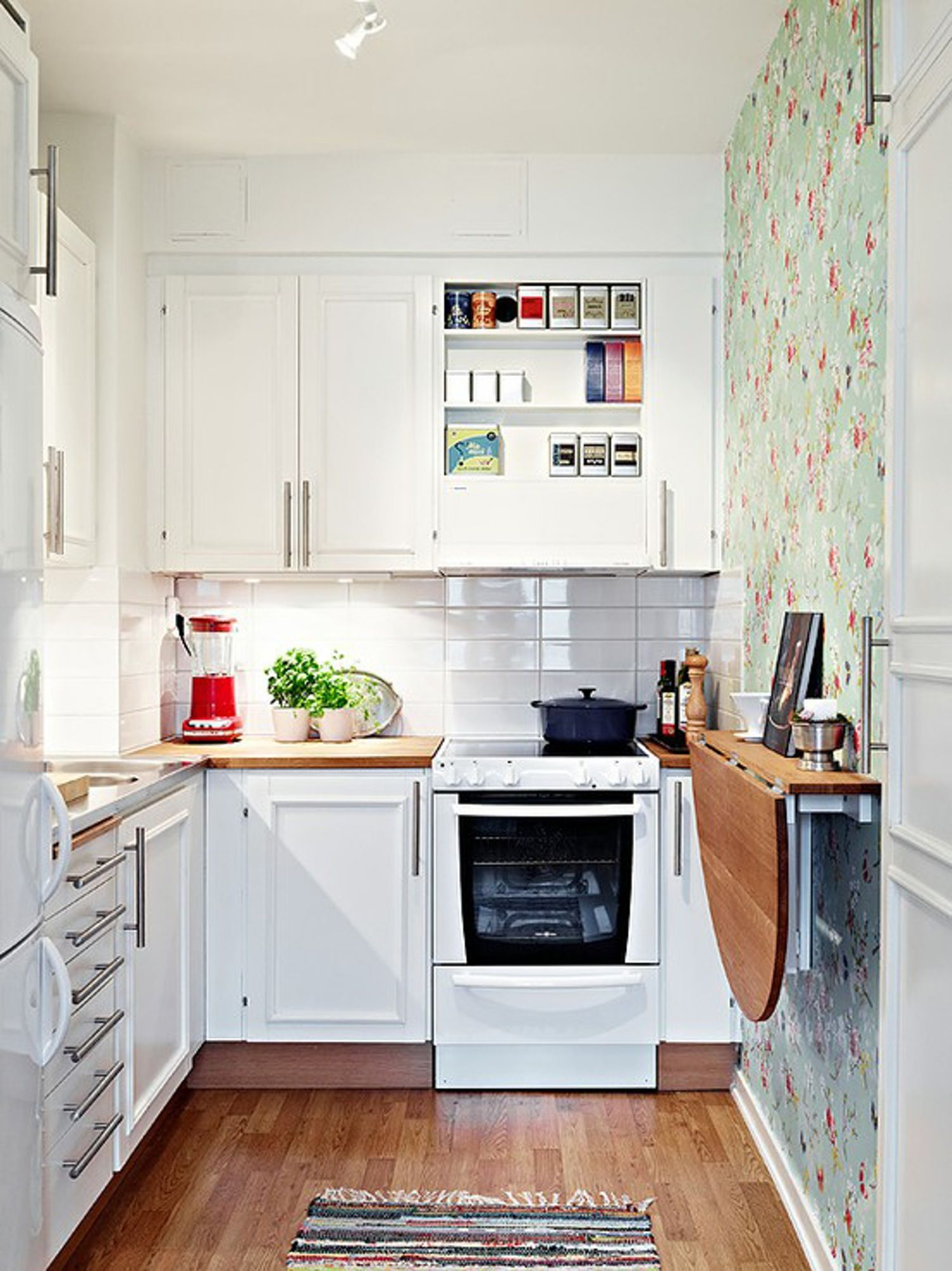 Making small kitchens bigger: That's how it works!