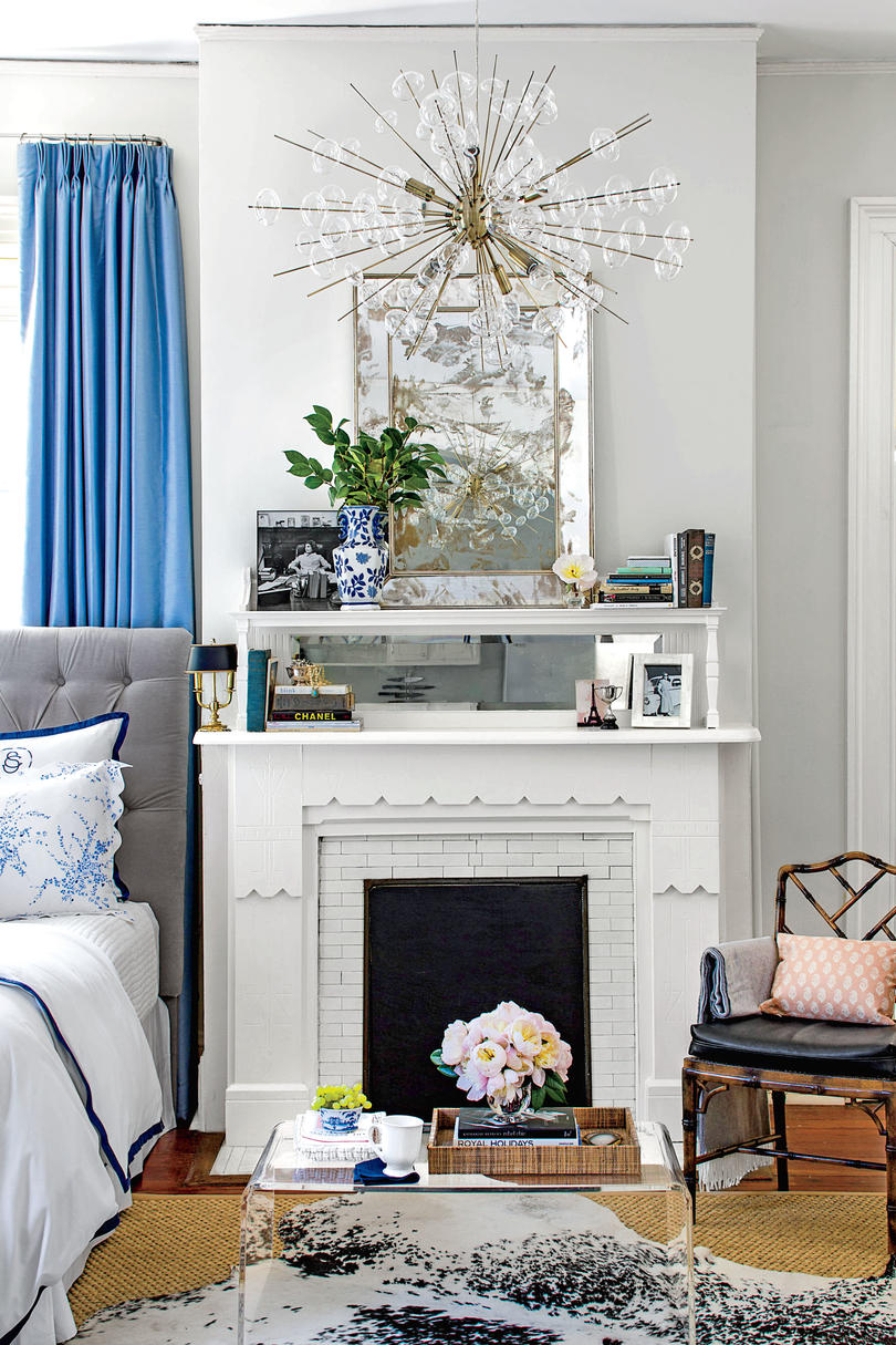 small spaces decorating extend your mantel BQOMMTZ