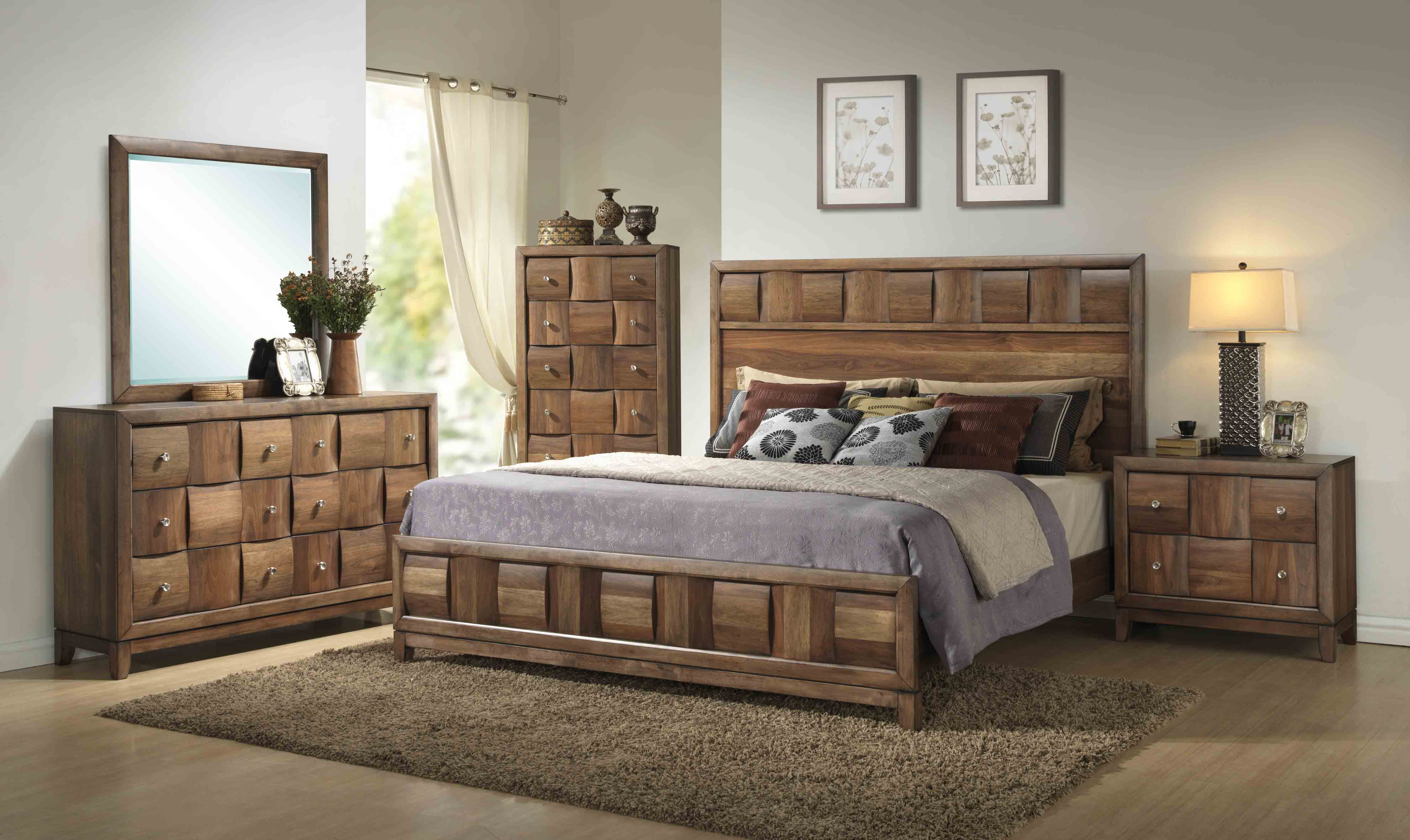 solid wood bedroom furniture offers sturdy options UCEMPQI