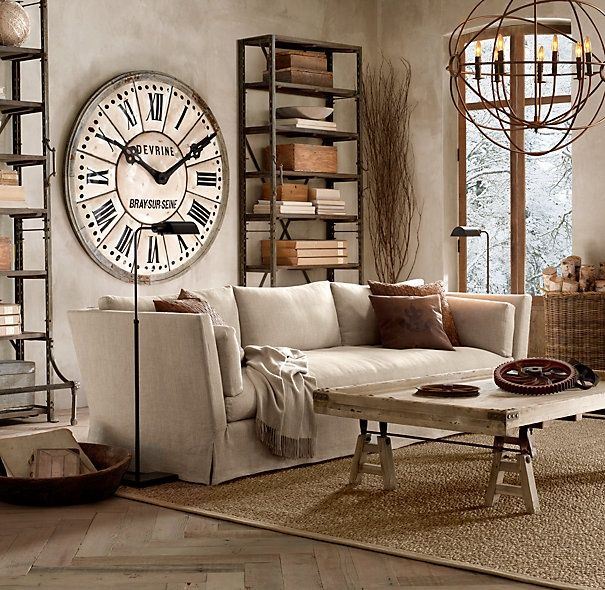 vintage living room decor stylish-and-inspiring-industrial-living-room-designs LNXFZLW