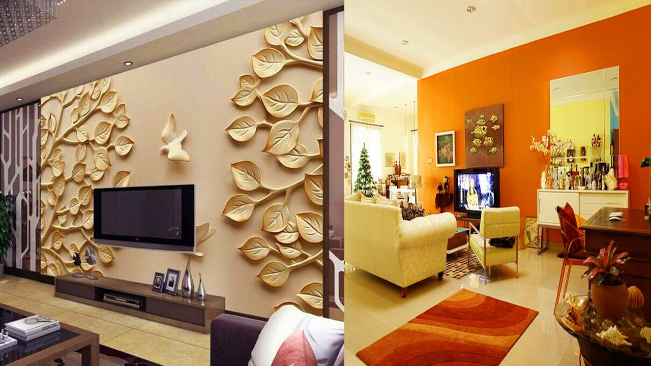 Wall design stunning 3d t.v wall design ideas-wall units designs - youtube CZWGKGR