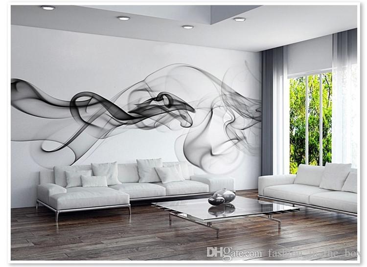 wall murals modern ... smoke fog photo wallpaper modern wall mural 3d view wallpaper designer  art LMIZOYO