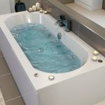 Whirlpool bath instead of bathtub