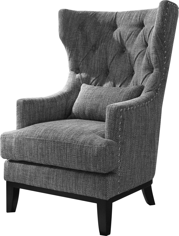 Wingback chair darby home co val wingback chair u0026 reviews | wayfair NQLSJSC