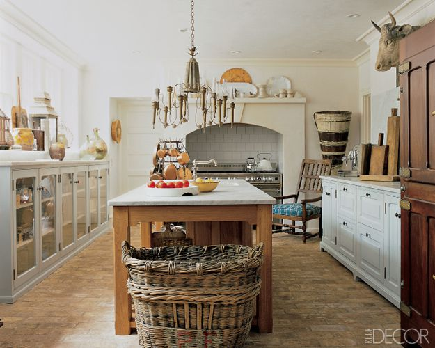 25 rustic kitchen decor ideas - country kitchens design BKIXWNL