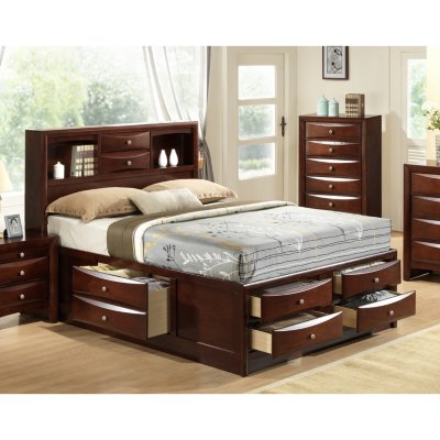 bedroom furniture madison storage platform bed (assorted sizes) KBWDWEZ