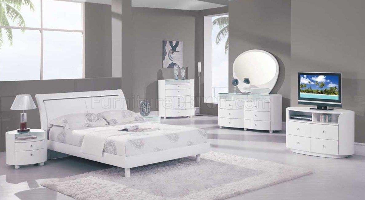 bedroom white furniture sets emily bedroom in white high gloss by global w/options SYDYCCI