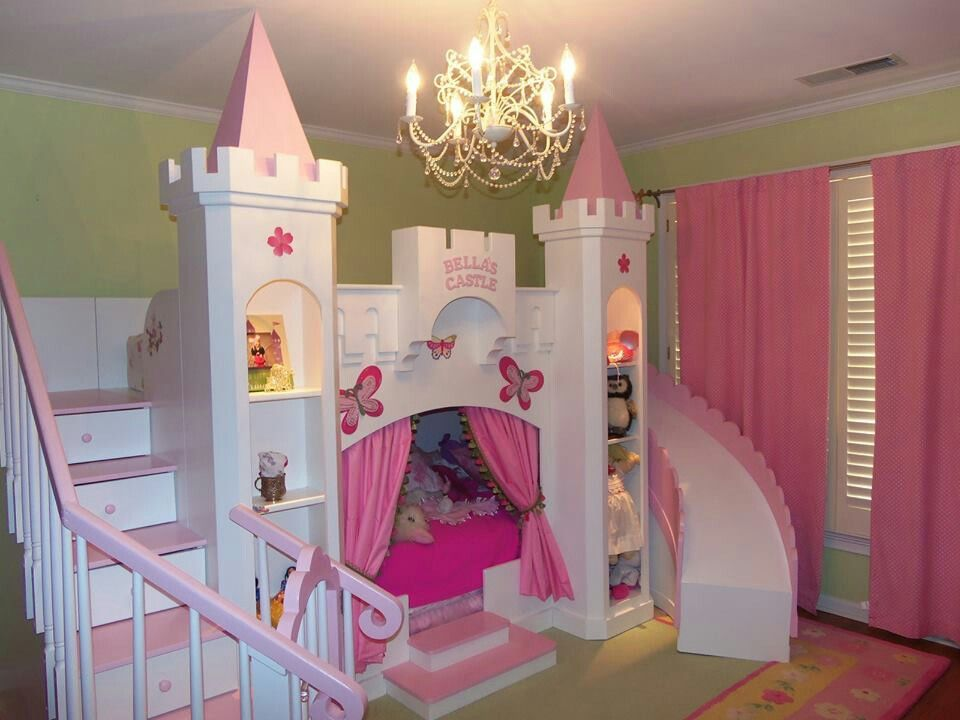 Beds for 5-years-old princess bed for the 5 year old 💕 GUIFUFW