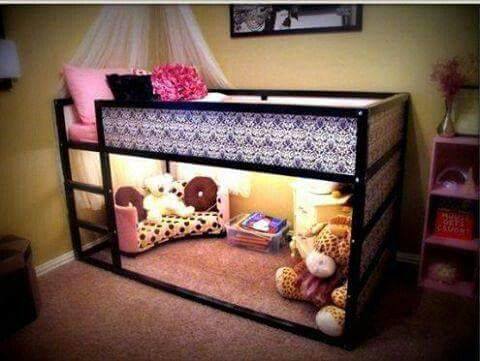 Beds for 5-years-old so sweet for a 5 year old girl #girlsbedroomfurniture LKDAYBP