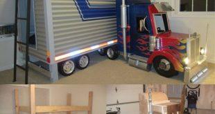 Beds for boys truck bunk beds! CKIYHXJ
