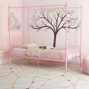 Beds for girls biggerstaff canopy bed KNNSULF