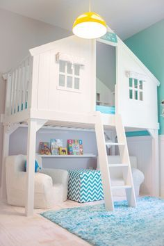 Beds for girls such a cute bedroom idea for a little girl... her bed can be CRYMYLP